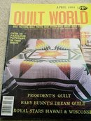 Quilt World  Magazine,   April 1984   - QM