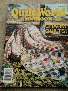 Quilt World  Omnibook Magazine,   Fall 1986   - QM