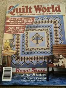 Quilt World  Magazine,   October 1987   - QM