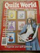 Quilt World  Magazine,   July  1989  - QM