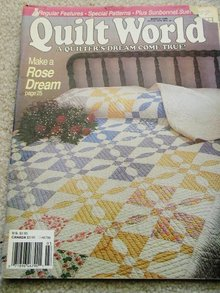 Quilt World  Magazine,   March 1990   - QM
