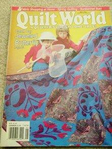 Quilt World  Magazine,   May 1990   - QM