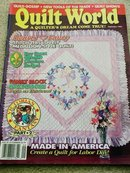 Quilt World  Magazine,   September 1993   - QM