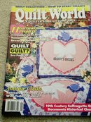 Quilt World  Magazine,   January 1994   - QM