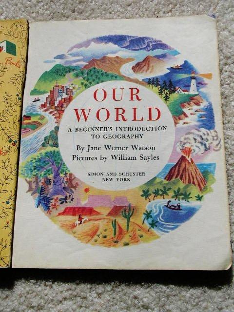 Our World - Little Golden Book