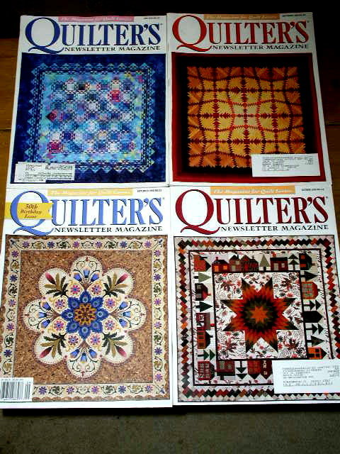 Back Issues of Quilting Magazines -  QM