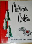 Wisconsin Electric Power Christmas Cookies Cookbook  -  CK