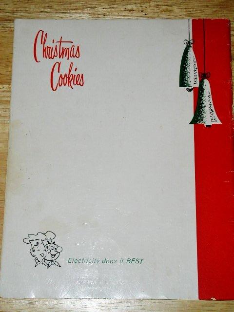 Wisconsin Electric Power Christmas Cookies Cookbook  -  CK