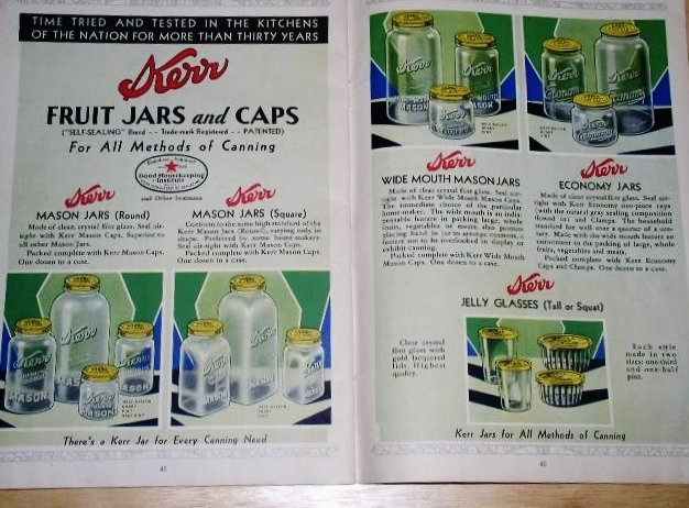 Kerr Home Canning Book  -  CK