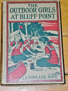 The Outdoor Girls At Bluff Point  Book