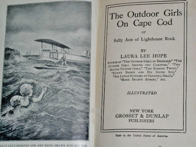 The Outdoor Girls On Cape Cod Book