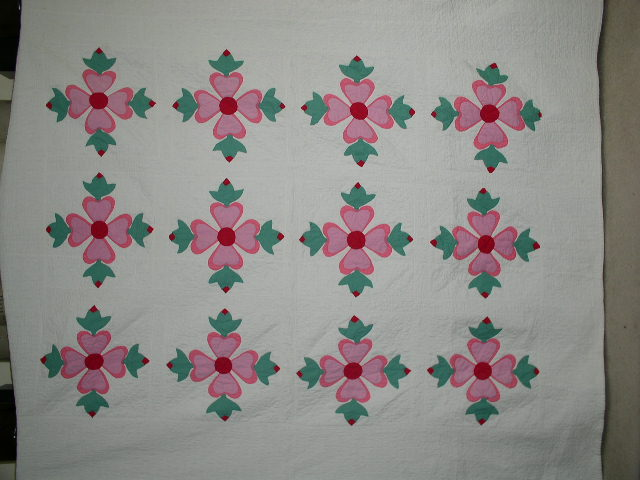 1920's Rose of Sharon Quilt -  QLT