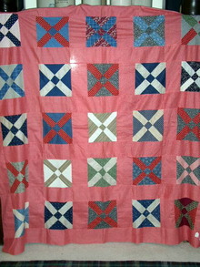 1890's Cross Quilt Top -  QTP