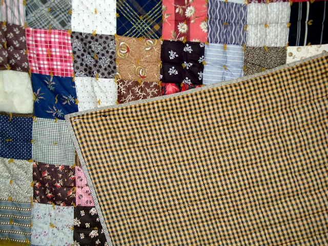 Patchwork Quilt, 1880-1890 -  QLT