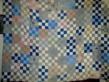 Nine Patch Quilt,  -  QLT