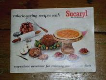 Sucaryl Recipe Cookbook  -  CK
