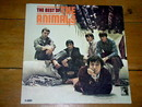 The Best of the Animals,    LP Record Album