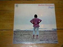 Barbra Streisand, People,    LP Record Album
