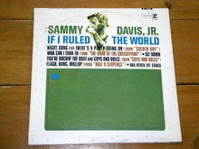 Sammy Davis, Jr.  If I Ruled the World,    LP Record Album