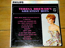 Teresa Brewer's Greatest Hits,    LP Record Album