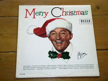 Bing Crosby,  Merry Christmas,     LP Record Album