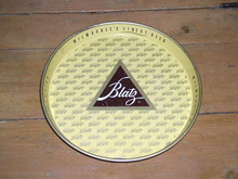 Blatz Metal Beer Tray