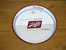 Schlitz Metal Beer Tray