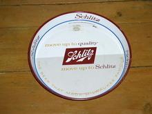 Schlitz Metal Beer Tray
