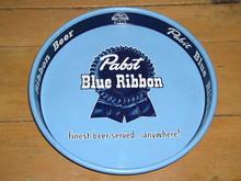 Pabst Metal Beer Tray
