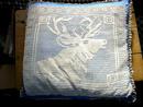 Crochet Elk Pillow