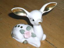 Handpainted Deer Figurine  -  FG