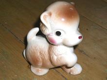 American Bisque Puppy Figurine  -  FG