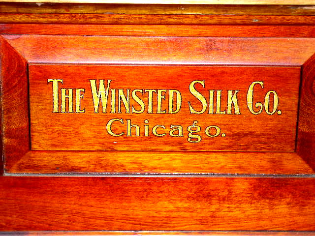 Winsted Silk Thread Spool Cabinet