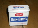 Rexall Quik-Bands Tin
