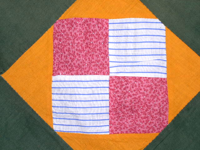 Four Patch Quilt Top - QTP