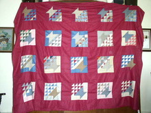 Basket Pattern Quilt Top -  QTP