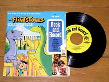 The Flintstones Zoo Adventure Book and Record