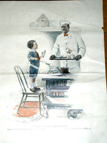 Cream of Wheat Advertisement, 1917