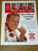 Lucky Strike Cigarettes  Advertisement