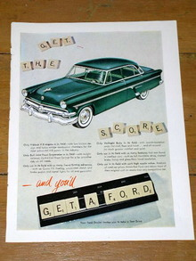 Ford Advertisement, 1955