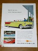 Oldsmobile  Advertisement, 1954