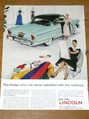 Lincoln Advertisement, 1955