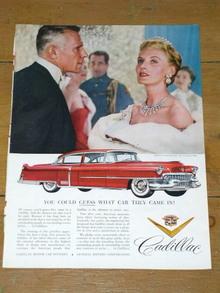 Cadillac Advertisement, 1955
