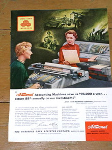 National Cash Register Advertisement