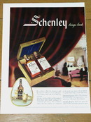 Schenley Bourbon  Advertisement