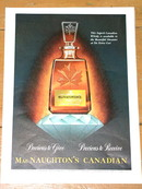 MacNaughton's Canadian Whisky Advertisement