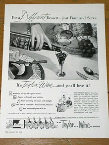 Taylor Wines Advertisement