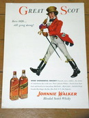 Johnnie Walker Whisky  Advertisement