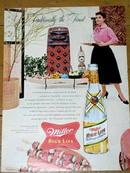 Miller High Life Beer Advertisement