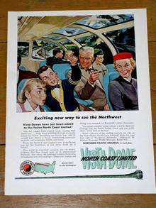 Northern Pacific Railway Advertisement